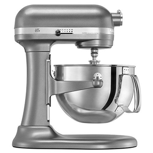 KitchenAid RKP26M1XCU PRO600 Stand Mixer Continental - Silver (Certified Refurbished)