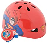 Pacific Cycle Superman Hardshell Helmet (Red)