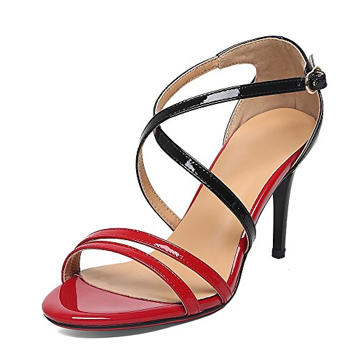 Nine SevenSandals - Zapatos de tacón  mujer Red