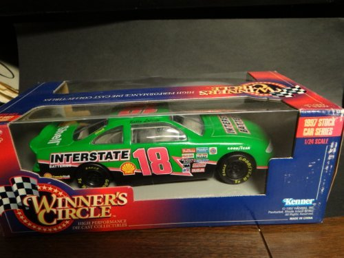 Batteries Car Interstate - Winners Circle Bobby Labonte Car # 18 Interstate Battery NASCAR Diecast Race Car 1997 1:24 Scale