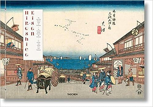 hiroshige eisen the sixty nine stations along the kisokaido xxl multilingual edition