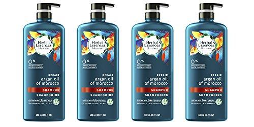 Herbal Essences Bio Renew Argan Oil of Morocco Shampoo, 4 Co
