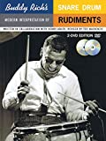 Buddy Rich's Modern Interpretation of Snare Drum Rudiments: Book/2-DVDs Pack