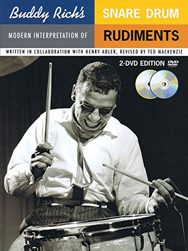 Buddy Rich's Modern Interpretation of Snare Drum Rudiments: Book/2-DVDs Pack ()