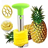 Sametech Stainless Steel Pineapple Peeler, Corer, Slicer and Wedger