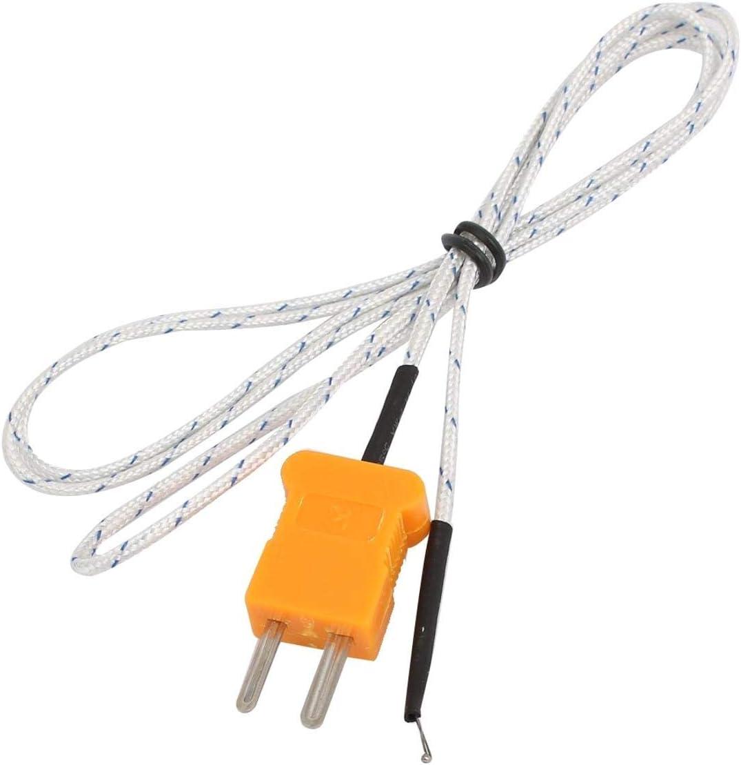 Insmartq 2 Pcs 5mm// 0.197 Fork Terminal K Type Thermocouple Probe Temperature Sensor