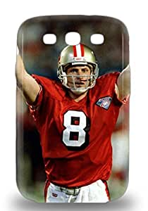 Slim Fit Tpu Protector Shock Absorbent Bumper NFL San Francisco 49ers Steve Young #8 Case For Galaxy S3 ( Custom Picture iPhone 6, iPhone 6 PLUS, iPhone 5, iPhone 5S, iPhone 5C, iPhone 4, iPhone 4S,Galaxy S6,Galaxy S5,Galaxy S4,Galaxy S3,Note 3,iPad Mini-Mini 2,iPad Air )