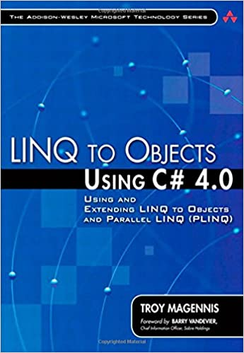 Télécharger de nouveaux livres kobo LINQ to Objects Using C# 4.0: Using and Extending LINQ to Objects and Parallel LINQ (PLINQ) (Addison-Wesley Microsoft Technology) by Troy Magennis PDF 0321637003
