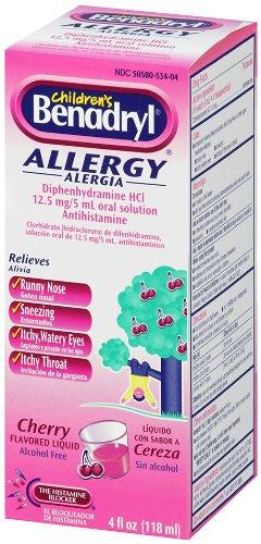 Children's Benadryl Allergy Cher...