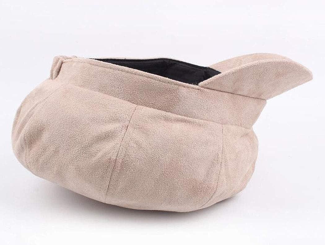 4URNEED Wool Fabric Winter Womens Ladies Newsboy Hat Berets Baker Hats Visor Beret,56-60CM