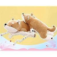Putuio Schattig Fat Shiba Inu pluche speelgoed, gevuld, zacht Kawaii-dier-cartoon-kussen (53 cm)