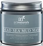 Art Naturals Dead Sea Mud Mask for Face, Body & Hair 8.8 oz, 100% Natural and Organic Deep Skin Cleanser - Clears Acne, Reduces Pores & Wrinkles - Ultimate Spa Quality -Mineral Infused, Additive Free