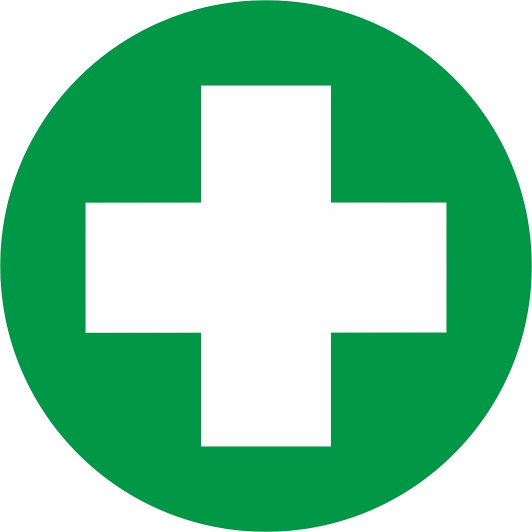 First Aid Box Stickers 90mm Amazon Office Products