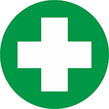 First Aid Box Stickers (90mm): Amazon.co.uk: Office Products