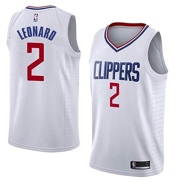 huge discount 879e4 cea1a VF LSG Men's Los Angeles Clippers #2 Kawhi Leonard Jersey White