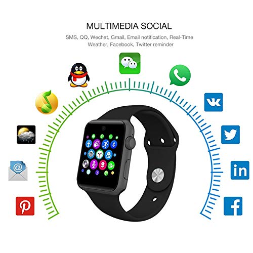 Amazon.com: Grass 135 lemfo Bluetooth Smart Watch lf07 smartwatch for Apple iPhone iOS Android Smartphones Looks Like Apple Watch reloj inteligente: Cell ...