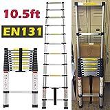 Telescoping Ladder 12.5ft Aluminum Telescopic