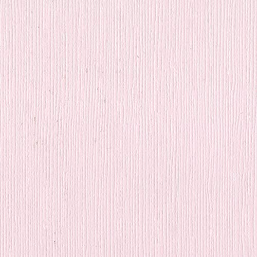 Bazzill Tutu Pink 12x12 Textured Cardstock | 80 lb Light Pastel Pink Scrapbook Paper | Premium Card Making and Paper Crafting Supplies | 25 Sheets per Pack Bazzill 12x12 Cardstock Light