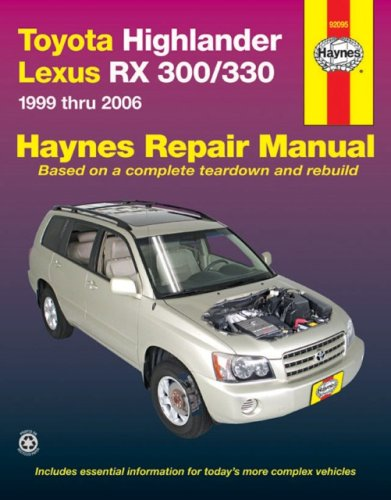 Toyota Highlander and Lexus RX-330, 1999-2006