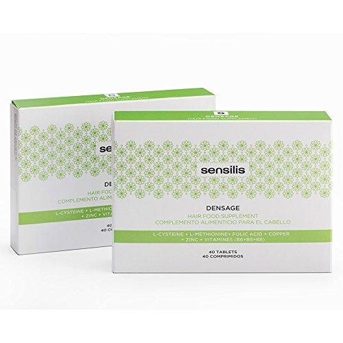 Sensilis Densage Complemento Alimenticio para el Cabello - 40 Cápsulas: Amazon.es: Belleza