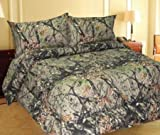 king camo quilt - WOODLAND CAMOUFLAGE - Microfiber Comforter Spread - KING