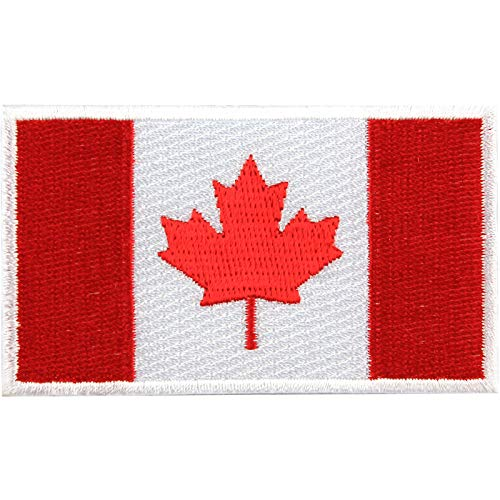 Canada Baseball Jersey - Calgary Flames Canadian Flag Shoulder Logo Jersey Patch Team Canada Country NHL