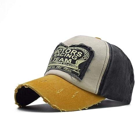 FBXYL Moto Sombreros para Hombres Gorra De Carreras Algodón ...