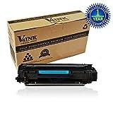 1 Pack V4INK Compatible CB435A (35A) Toner Cartridge for HP LaserJet P1005, P1006 Printer