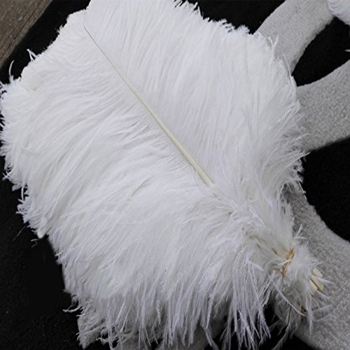Newgate iMeshbean Lot of 10 PCS White Color Natural Ostri...