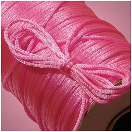2mm X 200Yd Hot Pink Rat Tail Cord