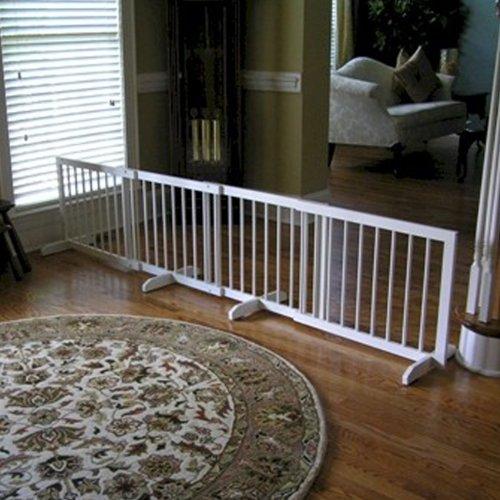 Step Over Pet Gate Finish: White