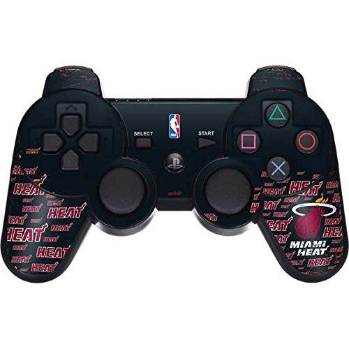 NBA Miami Heat PS3 Dual Shock wireless controller Skin - Miami Heat Blast Vinyl Decal Skin For Your PS3 Dual Shock wireless controller by Skinit
