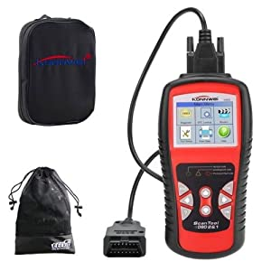 KW830 AL519 CAN OBD2/EOBD OBDII Diagnostic Scan Tool Fault Code Reader
