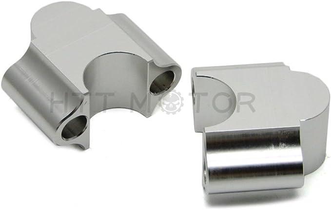 "CNC Handlebar Riser Bars Kit 7//8/"" 30mm Motorcycle for ATV Dirt Bike Off Road"