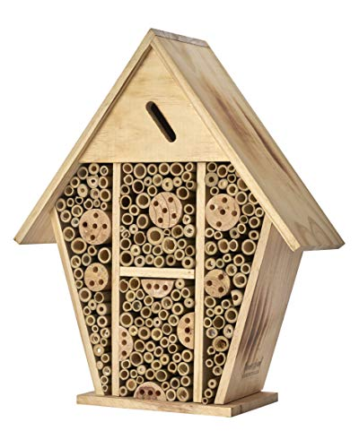Homestead Essentials Large Native Leafcutter and Mason Bee House