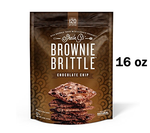 Brownie Brittle, 16 Ounce, Chocolate Chip (120 calories per ounce)