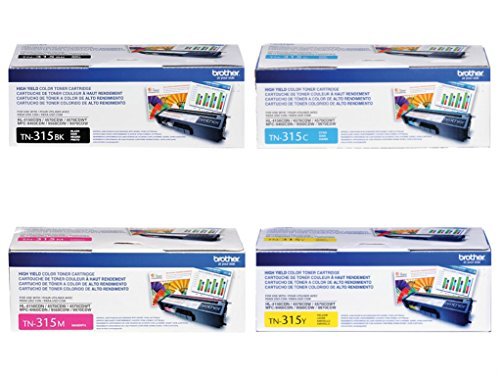 Brother TN315K TN315C Magenta Cartridge