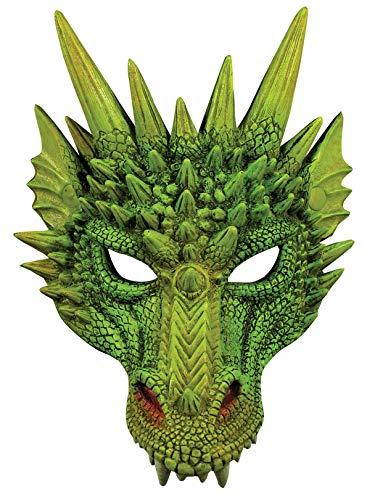 Spiky Fantasy Dragon Mask -