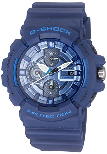 Casio GAC 100 2ACR G Shock Metallic Chronograph