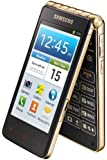 Samsung Galaxy Golden GT-I9235 16GB Flip Android Smartphone - International Version with No Warranty (Champagne Gold)