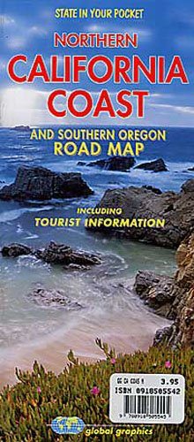 Northern California Coast and Southern Oregon Road Map (Road Map Southern California)