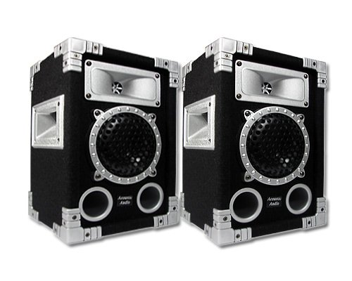 Acoustic Audio GX-350 PA Karaoke DJ Speakers 1000W 2 Way Pair