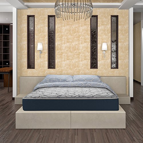 WOLF Sleep Accents Renewal Mattress with Wrapped Coil innerspring, Twin, Bed in a Box, Made in USA