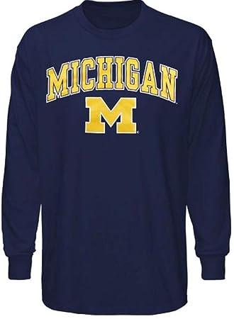 Universidad de Michigan Apparel Camiseta Sombrero Sudadera con Capucha Sudadera Wolverines Ropa: Amazon.es: Deportes y aire libre