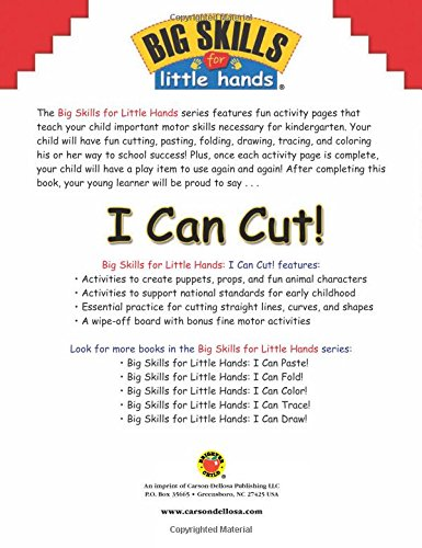 Amazon.com: I Can Cut! (Big Skills for Little Hands ...
