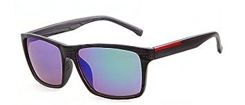 GCR Sonnenbrille Schatten Polarisierende Brille Nachahmung Holzmaserung Farbe Filme Männer Waveriding Strand Sonnenbrillen , C6