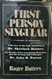 First Person Singular, Roger Butters, 0533056462