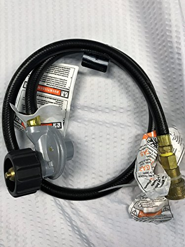 (TEC Infrared Gas Grill Factory Replacement QD Hose & LP Propane Regualtor for FR & G Series REG102QDFR)
