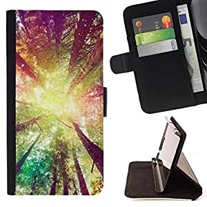 Momo Phone Case / Flip Funda de Cuero Case Cover - Jaune Soleil Ray Summer - Samsung Galaxy Note 4 IV