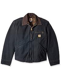 Carhartt Men's Big & Tall Detroit Jacket Blanket Lined Sandstone
